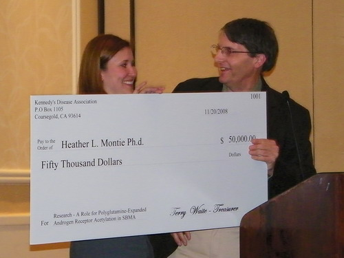 Heather L. Montie, Ph.d receives grant